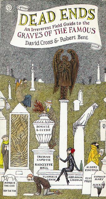 """David Cross i Robert Bent """"Martwy koniec - lekceważący przewodnik po grobach sław"""""""
