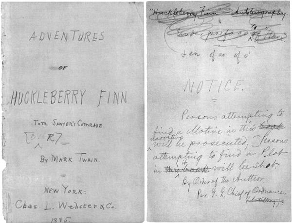 """Mark Twain """"Przygody Hucka"""""""
