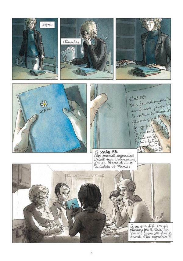 """""""Życie Adele"""" - komiks 1"""