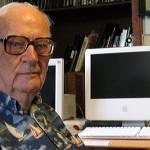 Kosmyk włosów Arthura C. Clarke'a poleci w kosmos