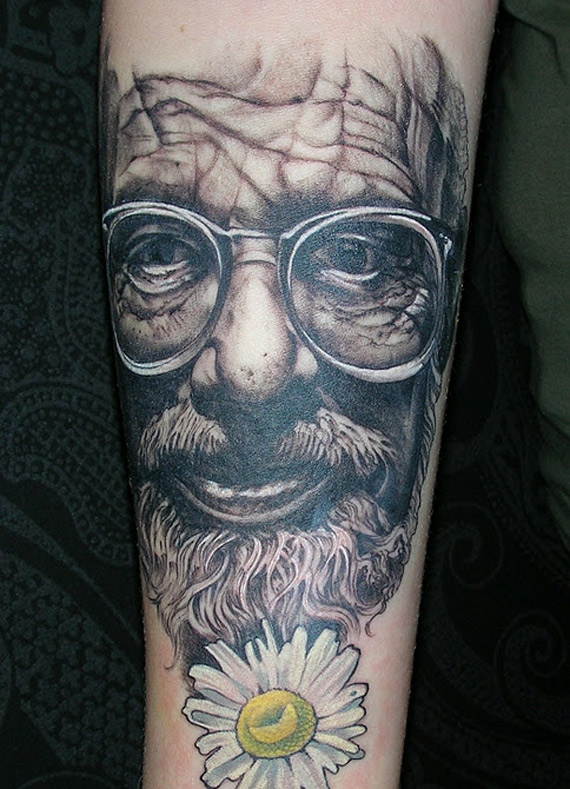 podobizna Allena Ginsberga