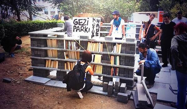 biblioteka Park Gezi