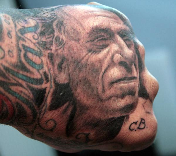 podobizna Charlesa Bukowskiego