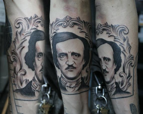 podobizna Edgara Allana Poe