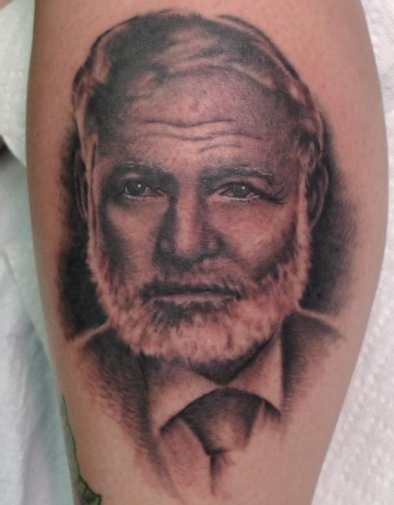 podobizna Ernesta Hemingwaya