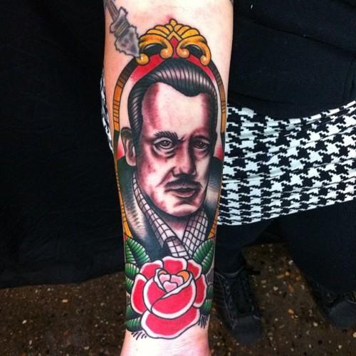 podobizna Johna Steinbecka