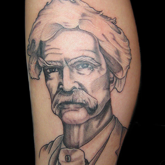 podobizna Marka Twaina