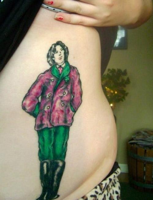 podobizna Oscara Wilde'a