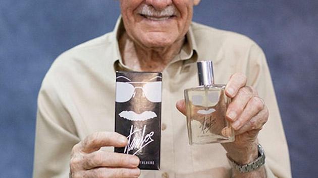 Stan Lee i woda kolońska