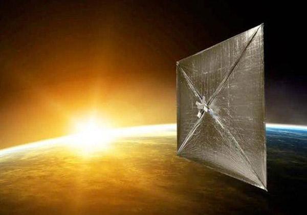 żagiel słoneczny Sunjammer