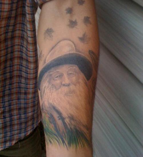 podobizna Walta Whitmana