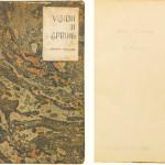 Książka wykonana własnoręcznie przez Faulknera sprzedana za 87,5 tysiąca dolarów