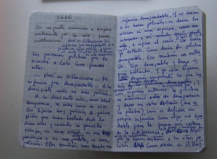 """Notes z powieścią """"2666?."""