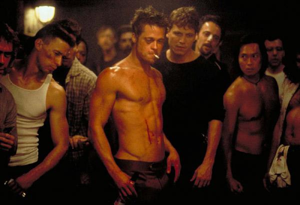 Brad Pitt w Fight-Club