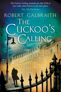 """angielska okładka """"The Cuckoo?s Calling"""""""