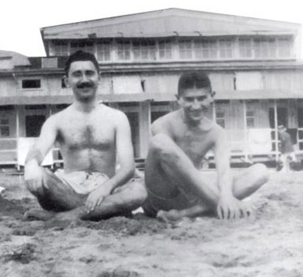 Max Brod i Franz Kafka