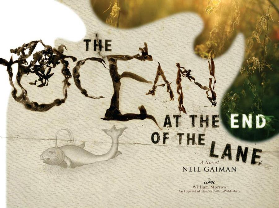 """Okładka autorstwa Dave?a McKeana zdobiąca jedną z limitowanych edycji """"Oceanu na końcu drogi?."""