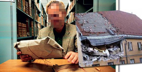 bibliotekarz złodziej w Szwedzkiej Bibliotece Narodowej