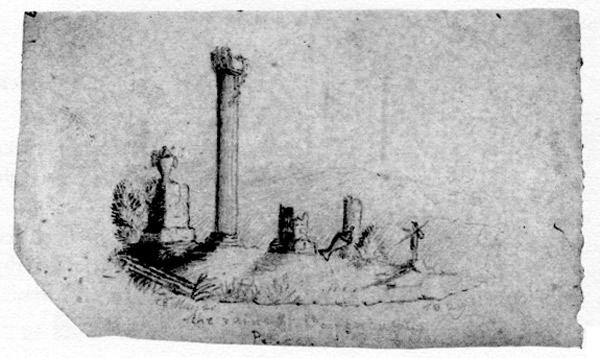 dziecięcy obrazek Charlotte Brontë