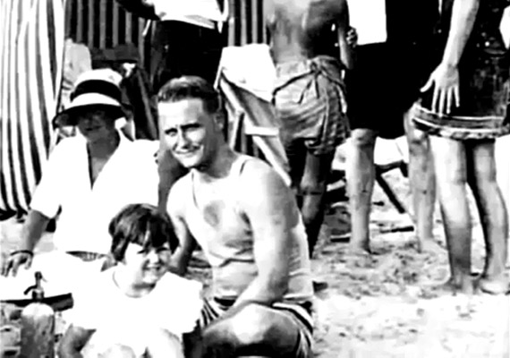 Zelda i F. Scott Fitzgerald z córką