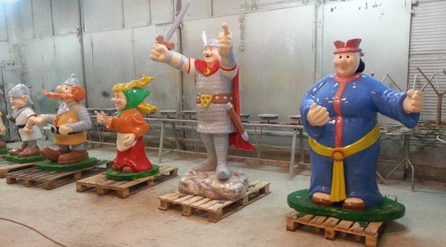 figury Kajko i Kokosza - 1