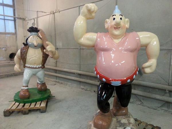 figury Kajko i Kokosza - 2