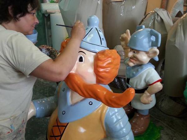 figury Kajko i Kokosza - 3