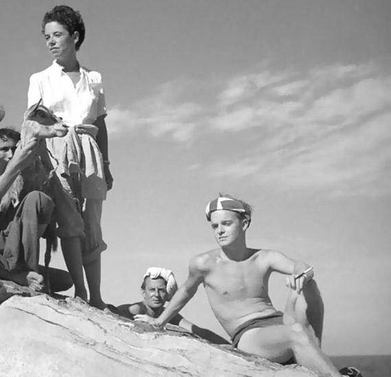 Jane Bowles i Truman Capote