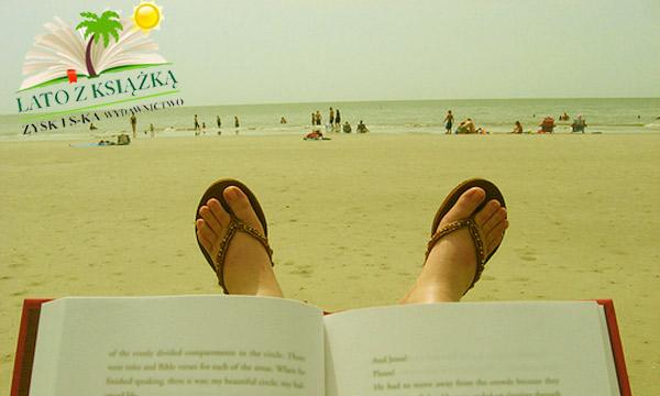 lato z książką Łeba