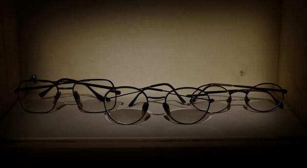 Okulary Roberto Bola?o.