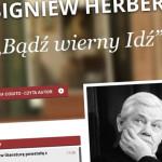Nowy serwis Polskiego Radia w 15. rocznicę śmierci Zbigniewa Herberta