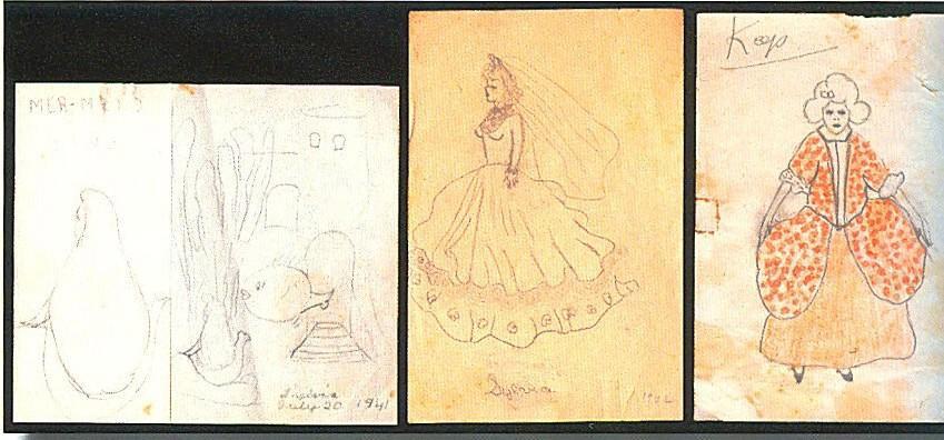 dziecięcy obrazek Sylvii Plath