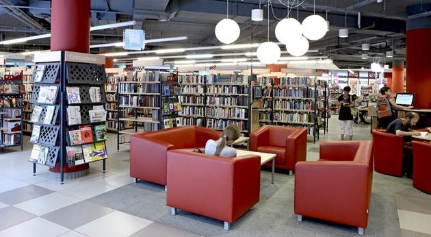 biblioteka Manhattan Modernizacją Roku 2012 - 1
