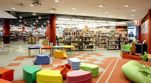 biblioteka Manhattan Modernizacją Roku 2012 - 3