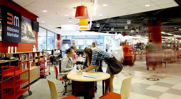 biblioteka Manhattan Modernizacją Roku 2012 - 5
