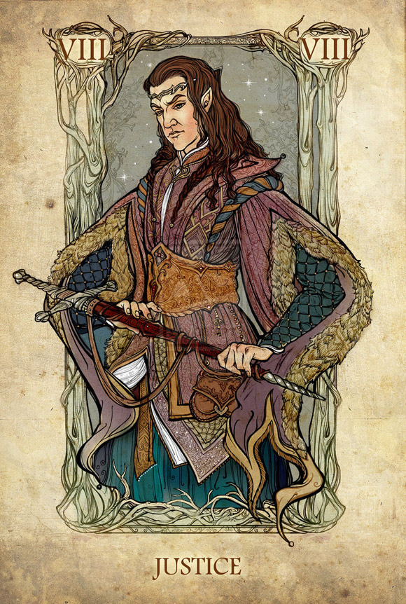 Elrond jako Sprawiedliwość
