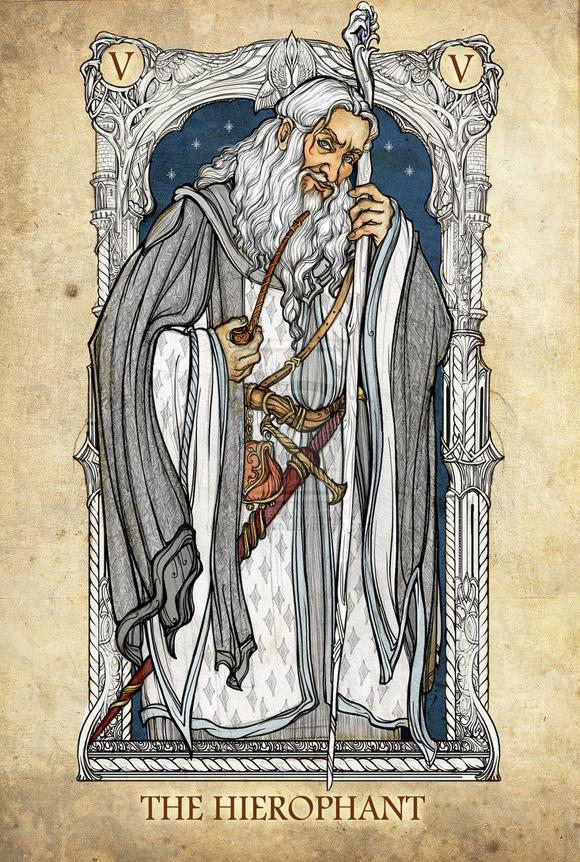 Gandalf Biały jako Papież (Kapłan)