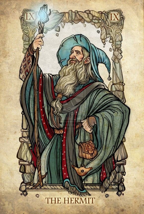 Gandalf Szary jako Eremita (Starzec)