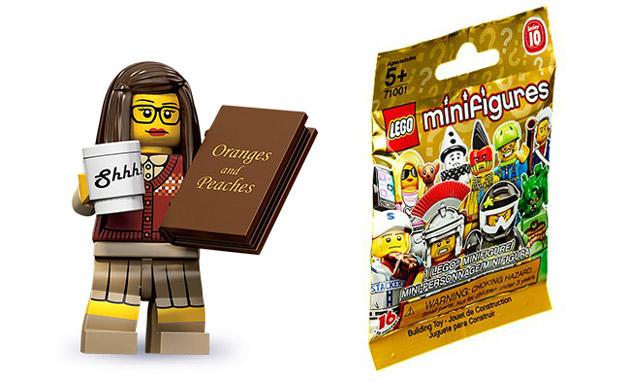 Lego Bibliotekarka