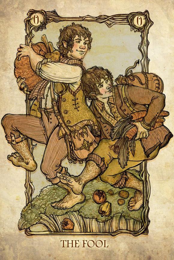 Merry i Pippin jako Głupiec
