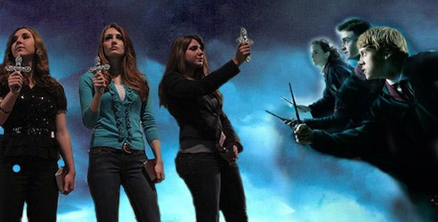 3 egorcystki kontra Harry Potter