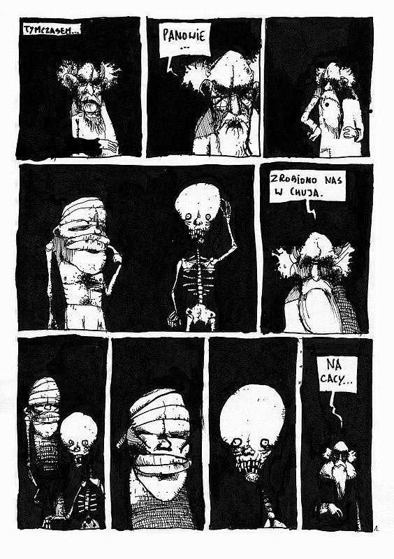 Komiksy znalezione na Strychu - 5