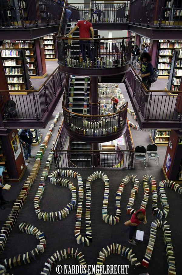 książkowe domino rekord - 3