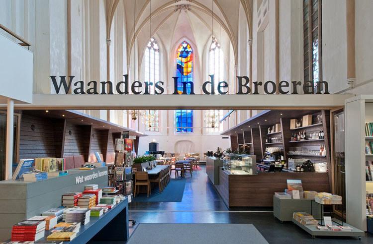 księgarnia w holenderskiej katedrze - 2