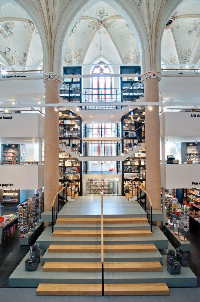 księgarnia w holenderskiej katedrze - 3