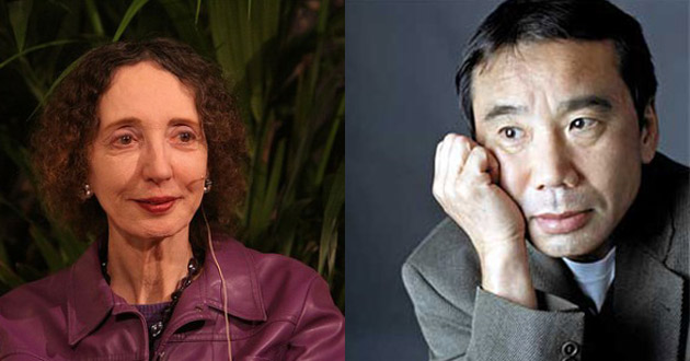 Murakami i Oates typowani do Nobla 2013
