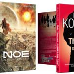 """Komiksowy """"Noe"""" Aronofsky?ego i """"Odd Thomas"""" Koontza w październiku od wydawnictwa SQN"""