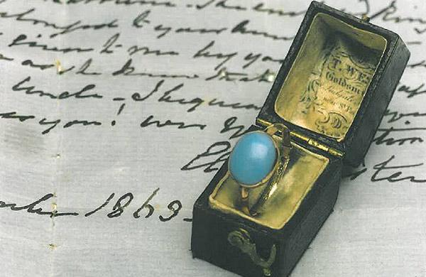 pierścionek Jane Austen pozostanie w UK