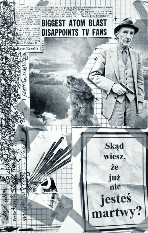 Jeden z dziewięciu kolaży, jakie znajdziemy w książce, autorstwa  Krzysztofa Stryjewskiego