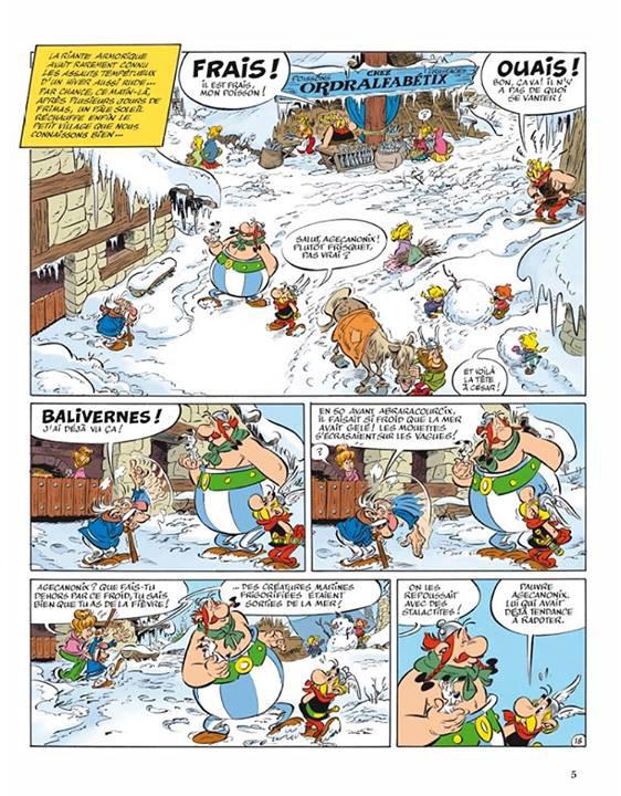 Asteriks u Piktow - plansza